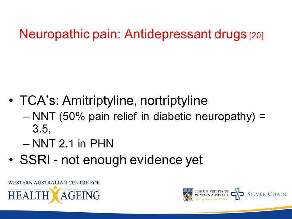 Nortriptyline Neuropathic Pain Dose